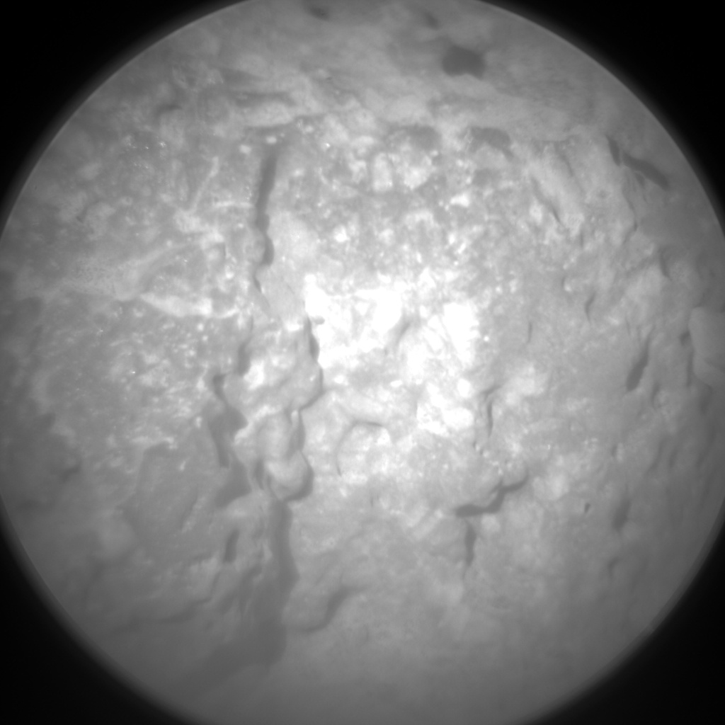 Nasa's Mars rover Curiosity acquired this image using its Chemistry & Camera (ChemCam) on Sol 512, at drive 510, site number 25