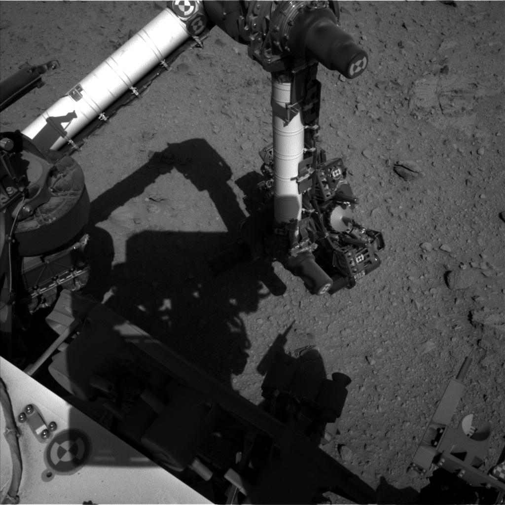 Nasa's Mars rover Curiosity acquired this image using its Left Navigation Camera on Sol 512, at drive 510, site number 25