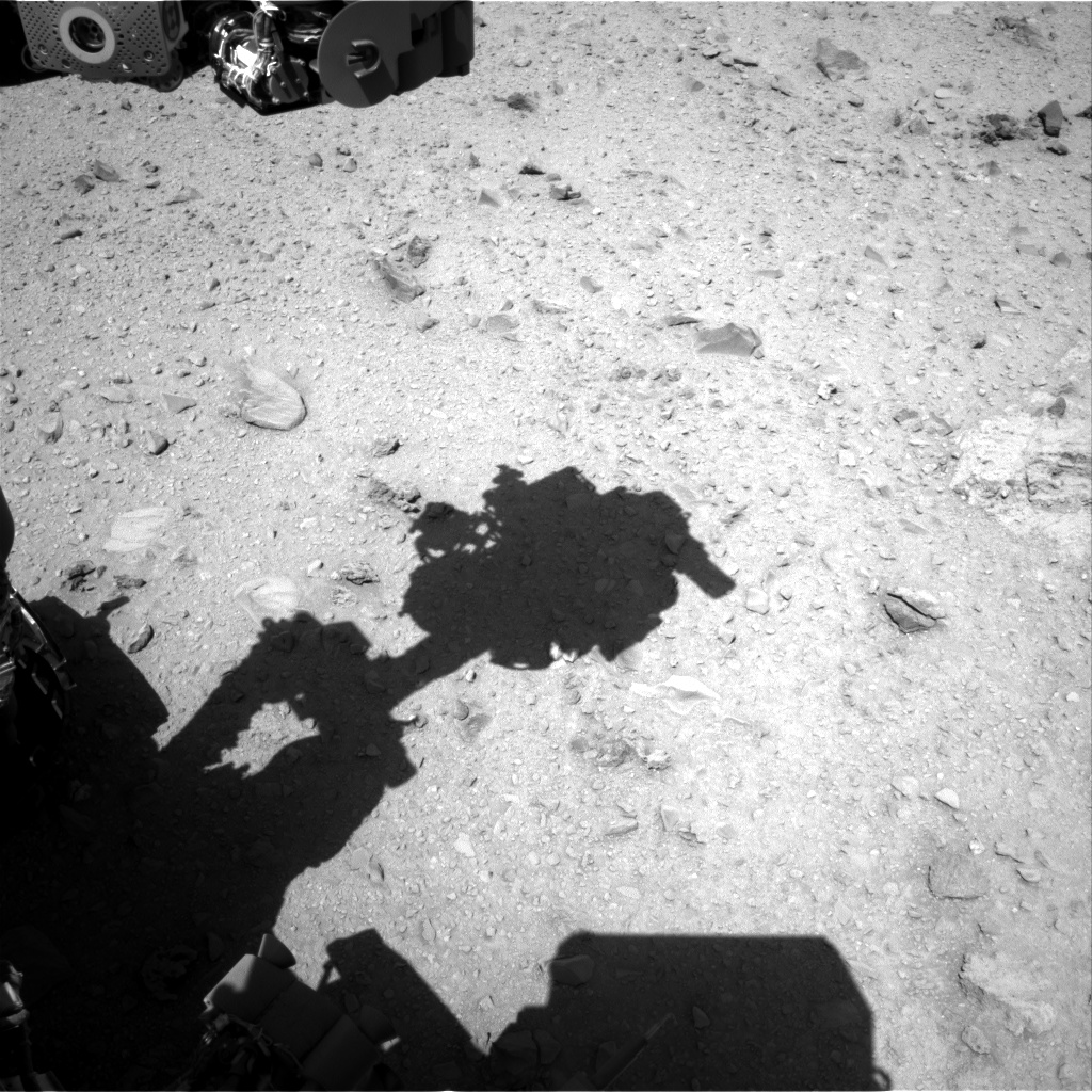 Nasa's Mars rover Curiosity acquired this image using its Right Navigation Camera on Sol 512, at drive 510, site number 25