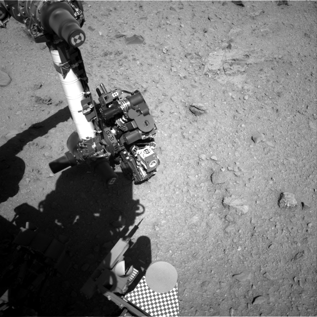 NASA's Mars rover Curiosity acquired this image using its Right Navigation Cameras (Navcams) on Sol 512