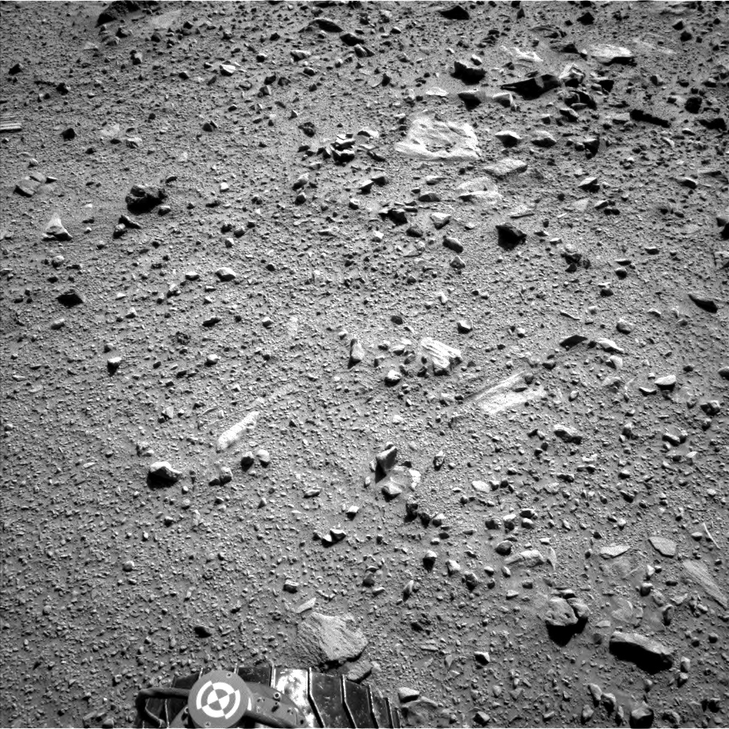 Nasa's Mars rover Curiosity acquired this image using its Left Navigation Camera on Sol 513, at drive 540, site number 25