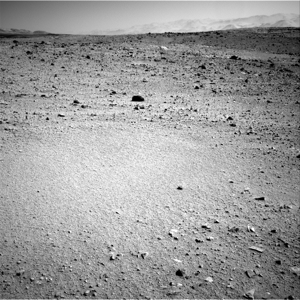 NASA's Mars rover Curiosity acquired this image using its Right Navigation Cameras (Navcams) on Sol 513
