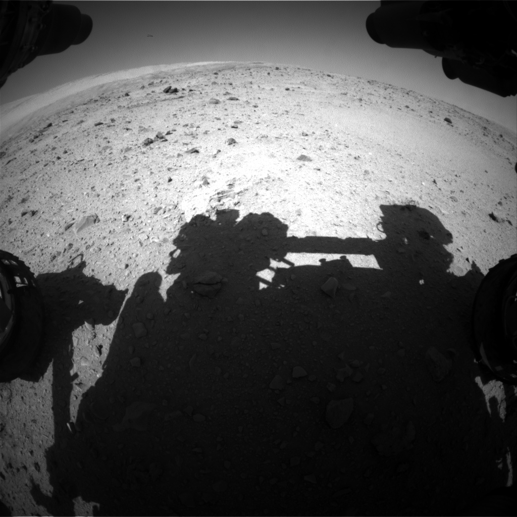 Nasa's Mars rover Curiosity acquired this image using its Front Hazard Avoidance Camera (Front Hazcam) on Sol 514, at drive 540, site number 25