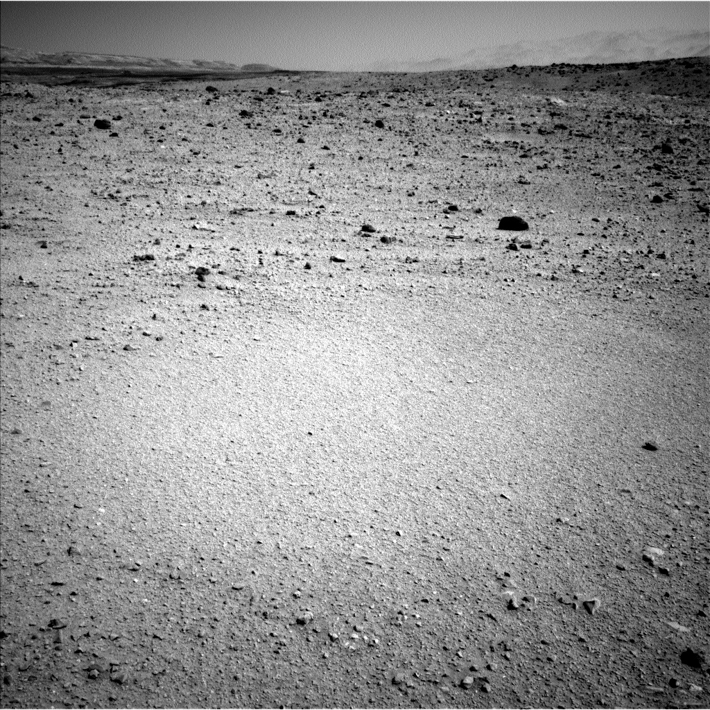 Nasa's Mars rover Curiosity acquired this image using its Left Navigation Camera on Sol 514, at drive 540, site number 25