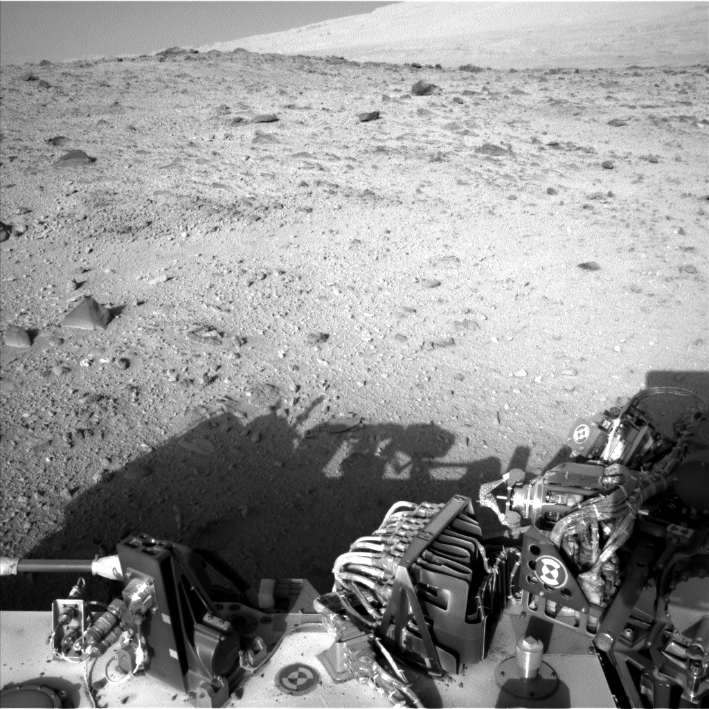NASA's Mars rover Curiosity acquired this image using its Left Navigation Camera (Navcams) on Sol 514