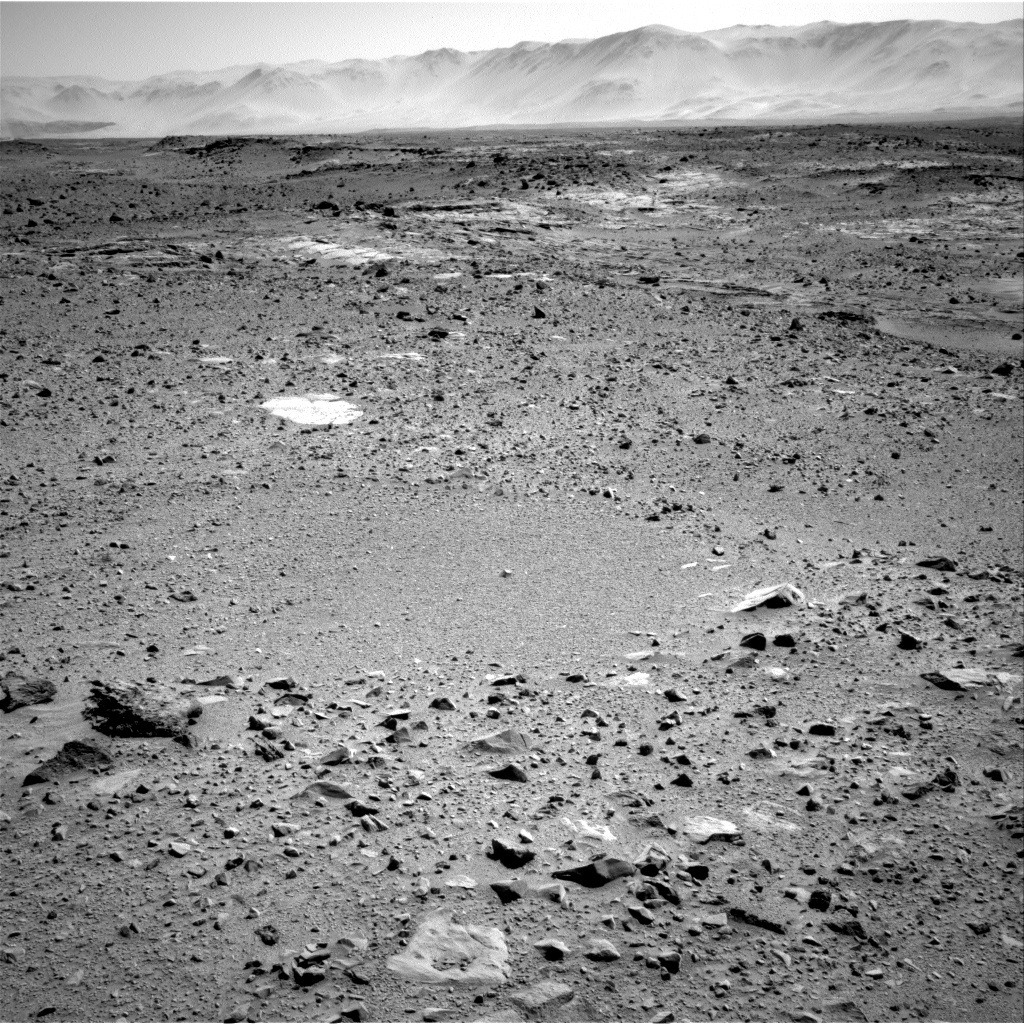 Nasa's Mars rover Curiosity acquired this image using its Right Navigation Camera on Sol 514, at drive 540, site number 25