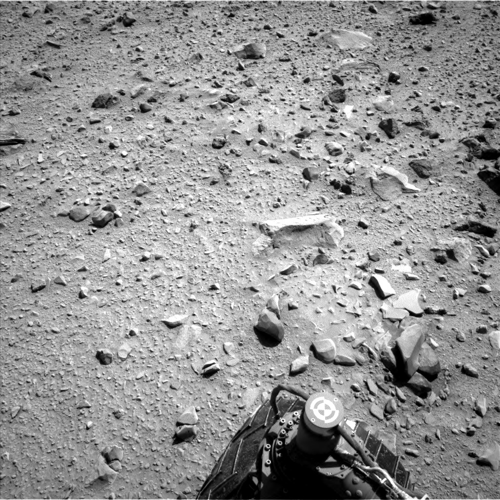 NASA's Mars rover Curiosity acquired this image using its Left Navigation Camera (Navcams) on Sol 515