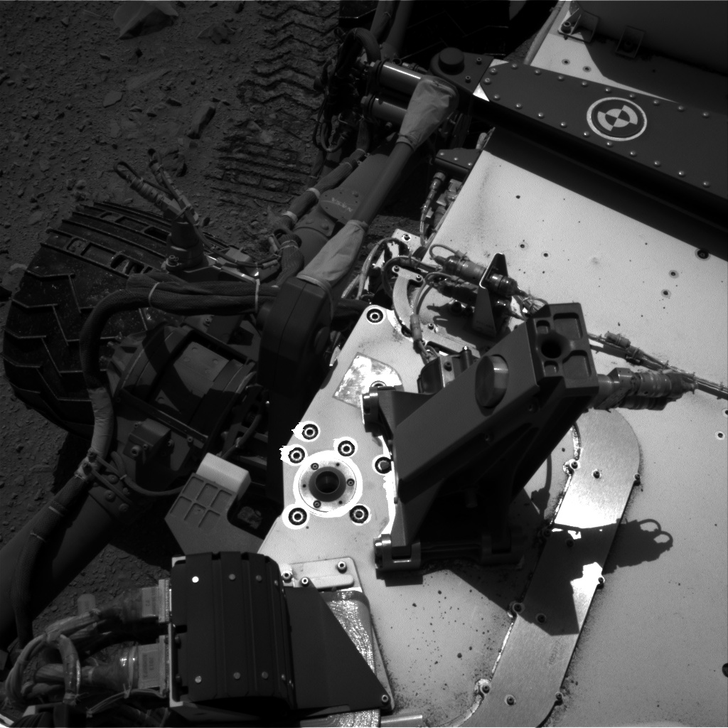 Nasa's Mars rover Curiosity acquired this image using its Right Navigation Camera on Sol 515, at drive 552, site number 25