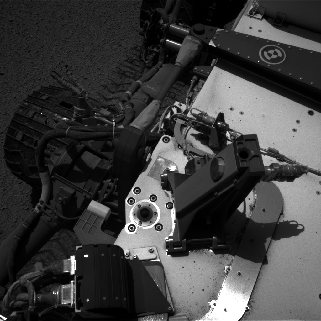 Nasa's Mars rover Curiosity acquired this image using its Right Navigation Camera on Sol 515, at drive 594, site number 25