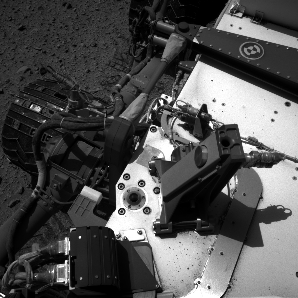 Nasa's Mars rover Curiosity acquired this image using its Right Navigation Camera on Sol 515, at drive 708, site number 25