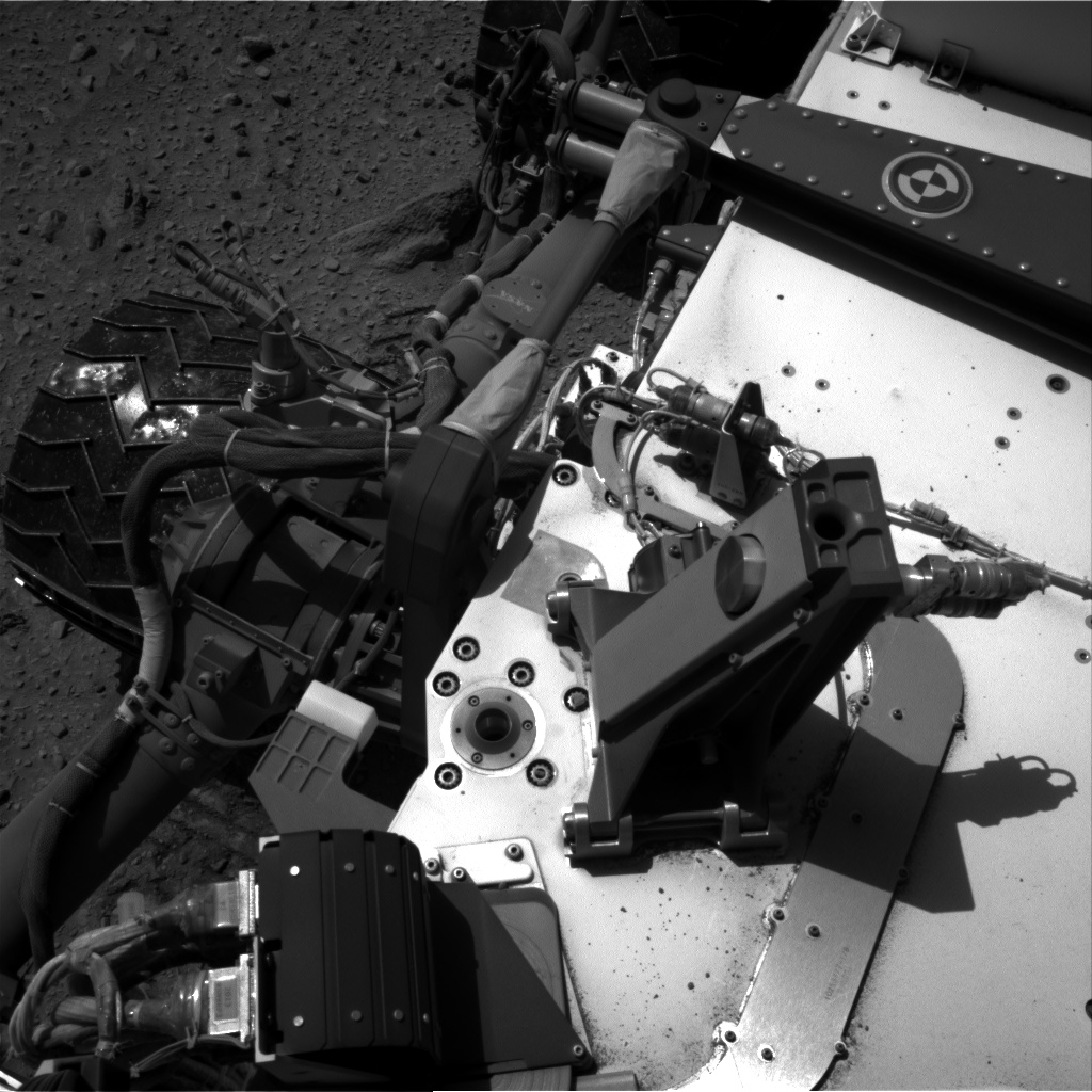 Nasa's Mars rover Curiosity acquired this image using its Right Navigation Camera on Sol 515, at drive 720, site number 25