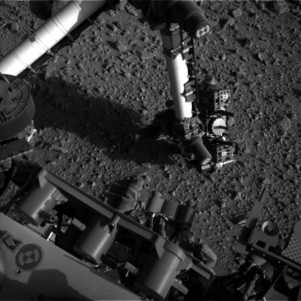 NASA's Mars rover Curiosity acquired this image using its Left Navigation Camera (Navcams) on Sol 516