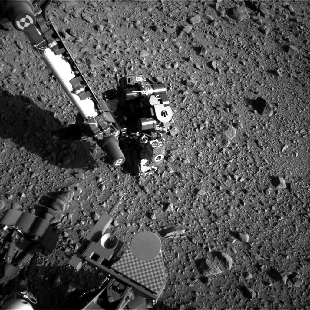 Nasa's Mars rover Curiosity acquired this image using its Right Navigation Camera on Sol 516, at drive 750, site number 25