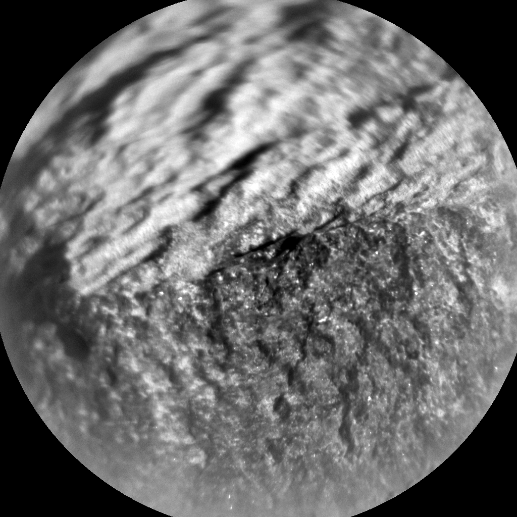 Nasa's Mars rover Curiosity acquired this image using its Chemistry & Camera (ChemCam) on Sol 516, at drive 750, site number 25