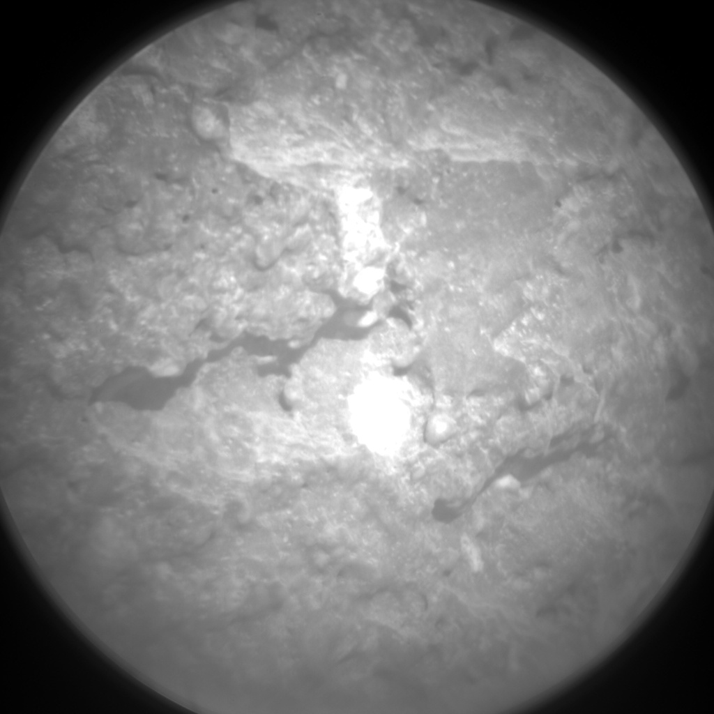 Nasa's Mars rover Curiosity acquired this image using its Chemistry & Camera (ChemCam) on Sol 517, at drive 750, site number 25