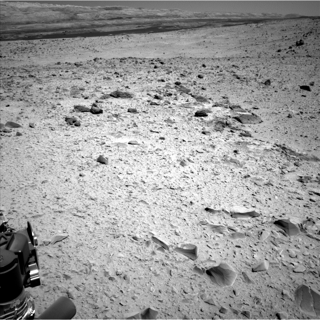 Nasa's Mars rover Curiosity acquired this image using its Left Navigation Camera on Sol 518, at drive 886, site number 25