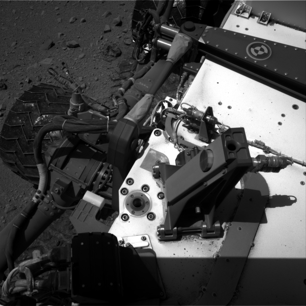 Nasa's Mars rover Curiosity acquired this image using its Right Navigation Camera on Sol 518, at drive 786, site number 25