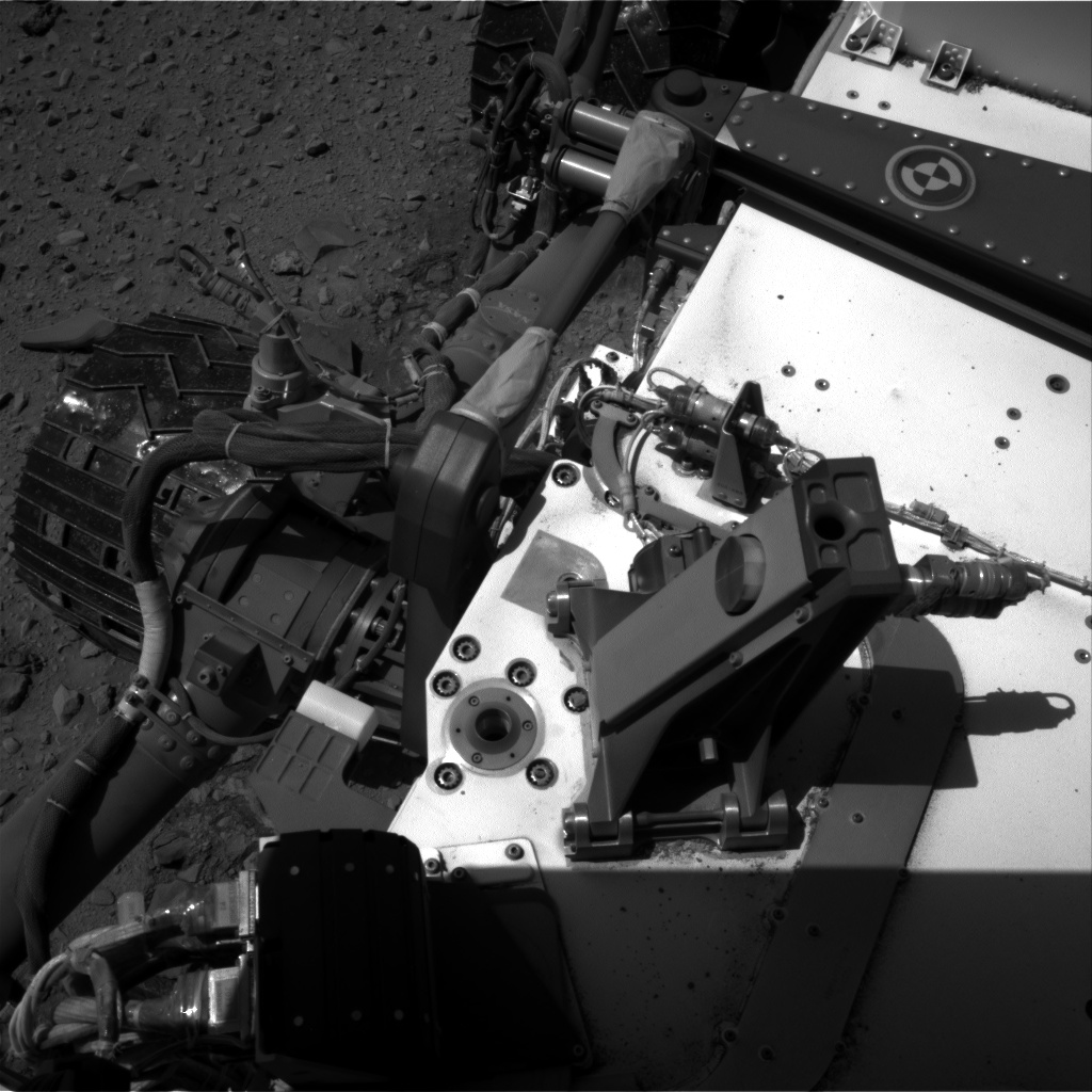 Nasa's Mars rover Curiosity acquired this image using its Right Navigation Camera on Sol 518, at drive 810, site number 25