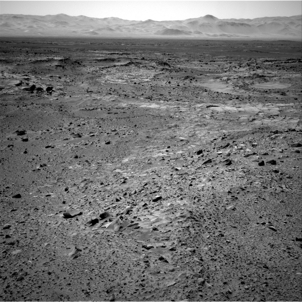 Nasa's Mars rover Curiosity acquired this image using its Right Navigation Camera on Sol 518, at drive 886, site number 25