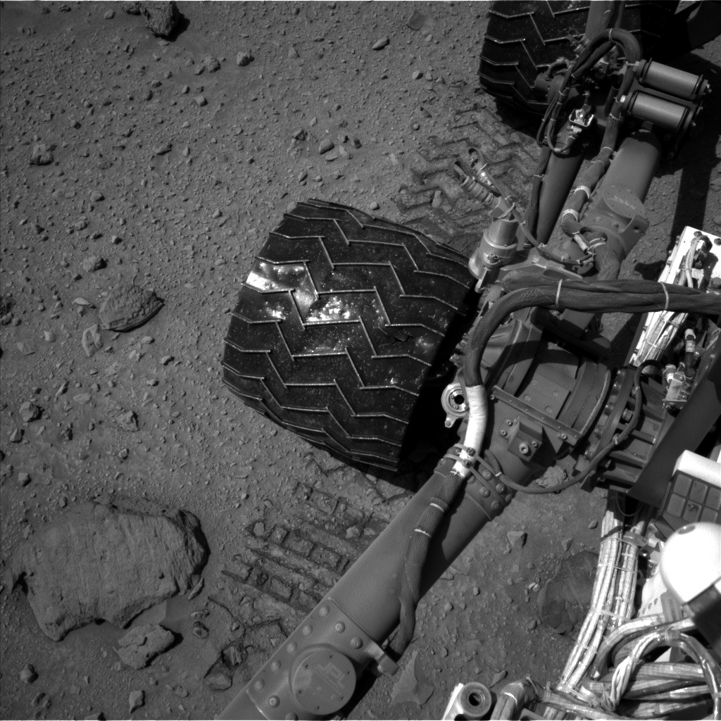 Nasa's Mars rover Curiosity acquired this image using its Left Navigation Camera on Sol 519, at drive 1018, site number 25