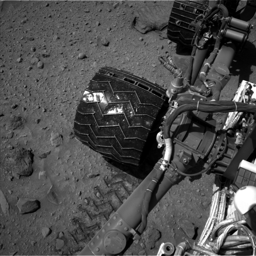 Nasa's Mars rover Curiosity acquired this image using its Left Navigation Camera on Sol 519, at drive 1030, site number 25