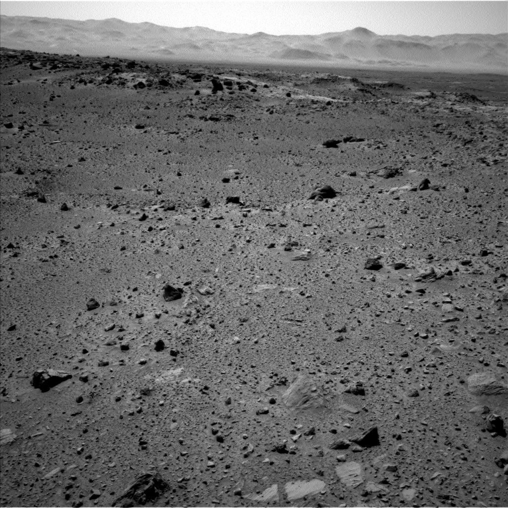 Nasa's Mars rover Curiosity acquired this image using its Left Navigation Camera on Sol 519, at drive 1070, site number 25