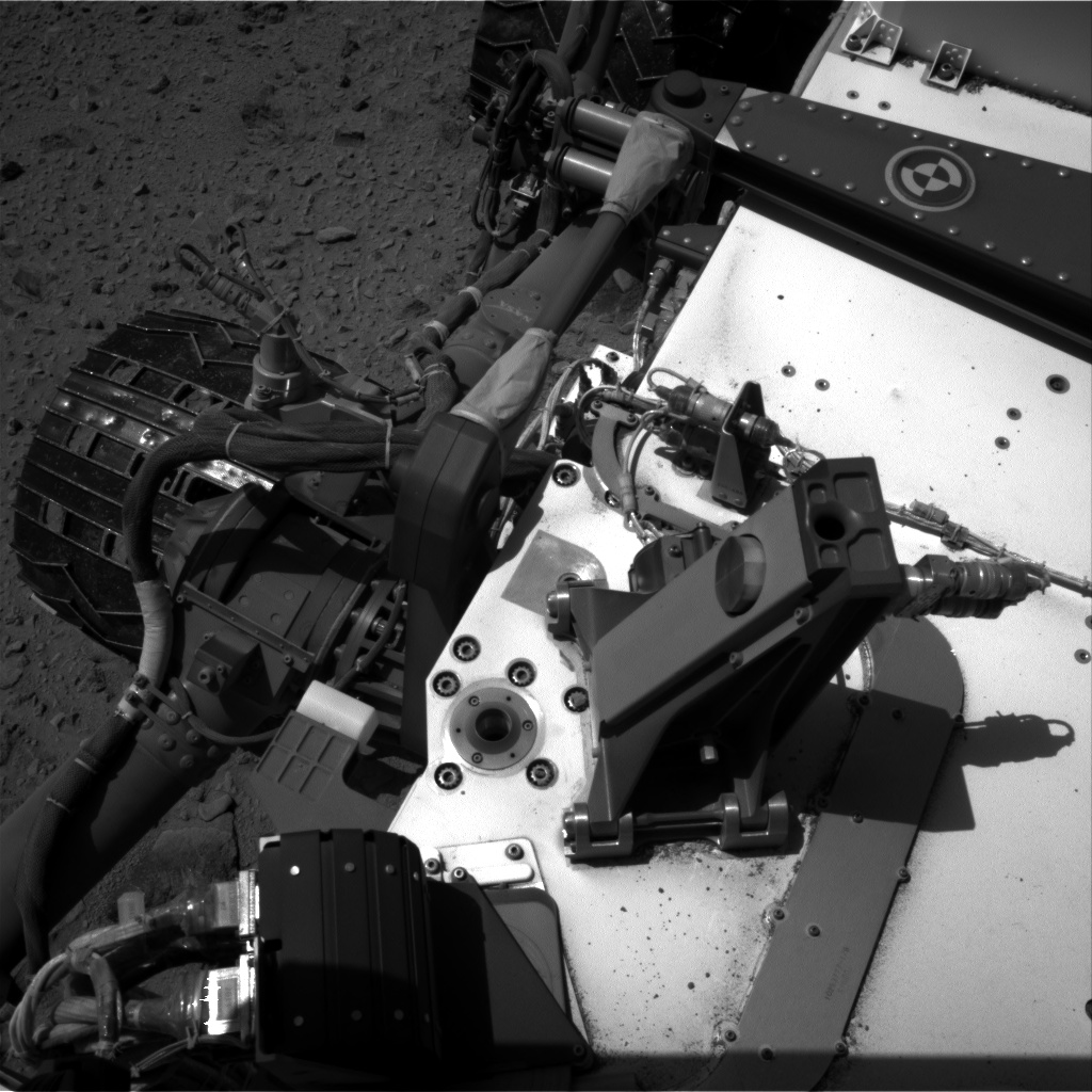 Nasa's Mars rover Curiosity acquired this image using its Right Navigation Camera on Sol 519, at drive 922, site number 25
