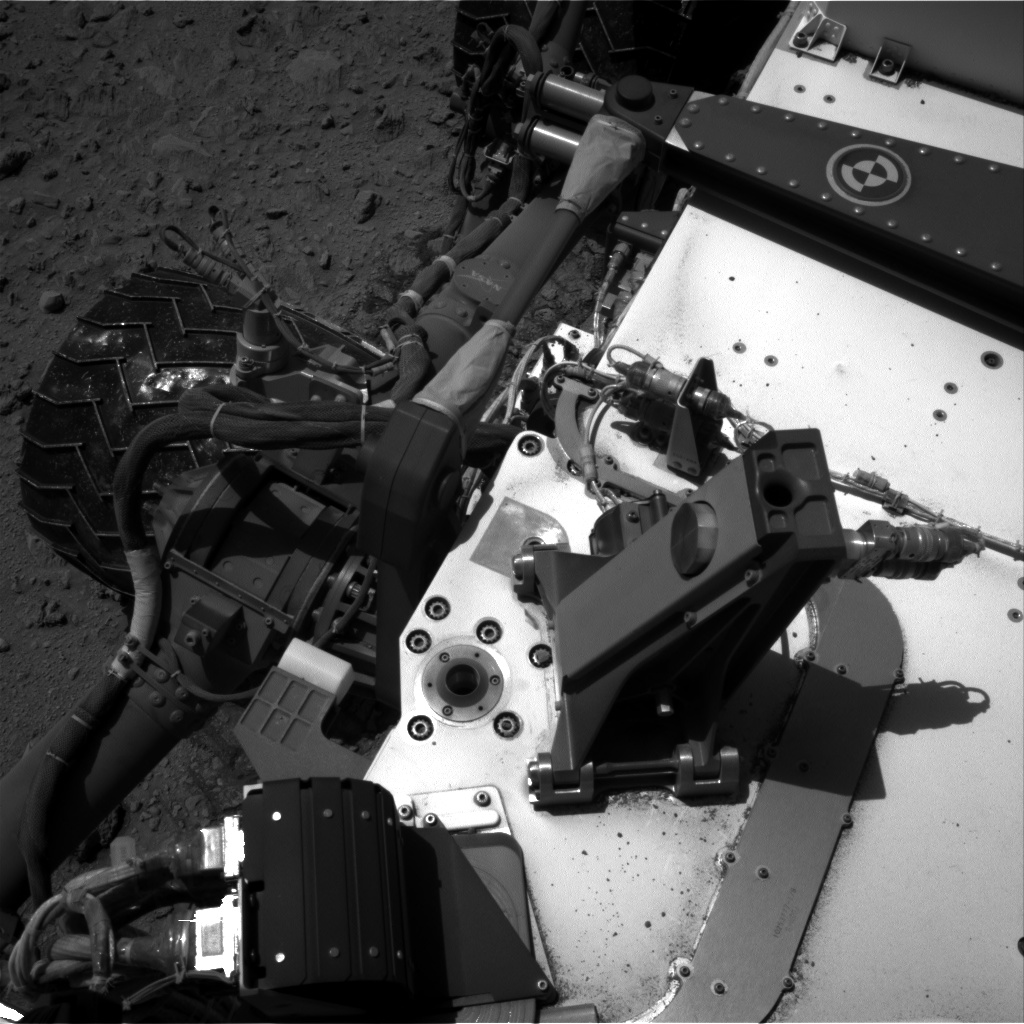 Nasa's Mars rover Curiosity acquired this image using its Right Navigation Camera on Sol 519, at drive 946, site number 25