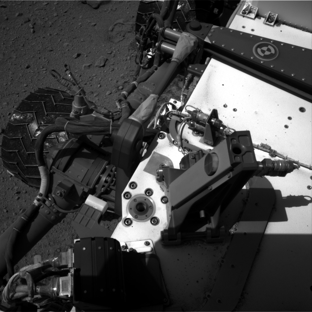 Nasa's Mars rover Curiosity acquired this image using its Right Navigation Camera on Sol 519, at drive 988, site number 25