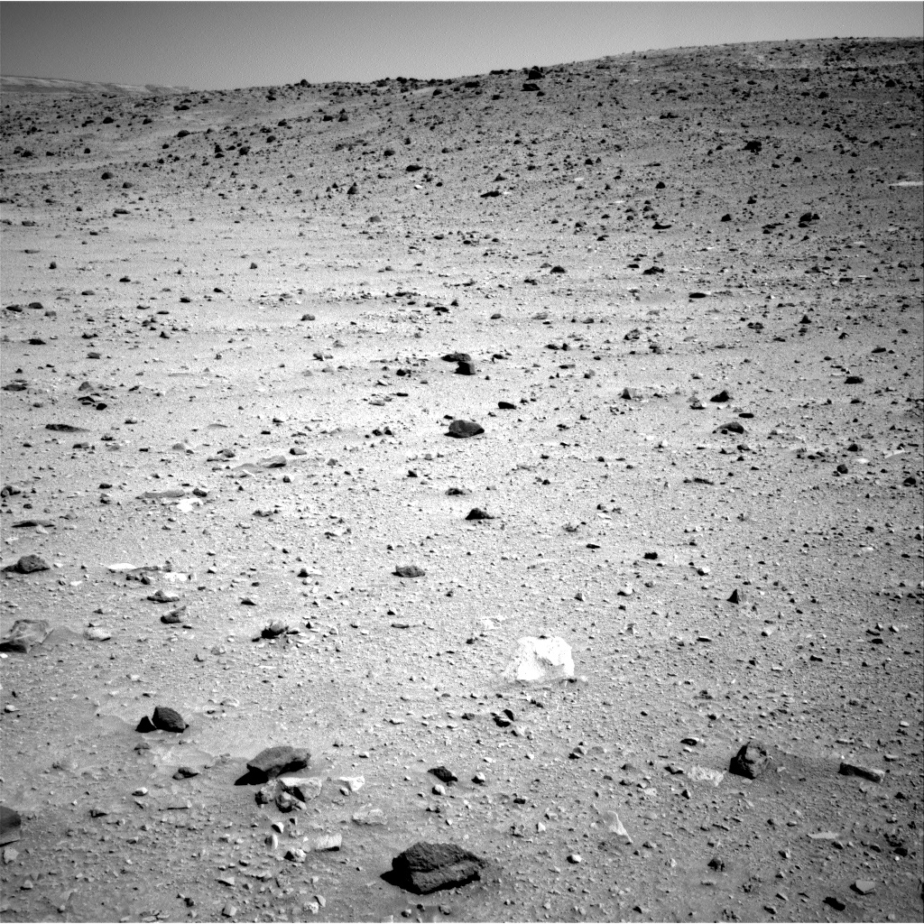 Nasa's Mars rover Curiosity acquired this image using its Right Navigation Camera on Sol 519, at drive 1070, site number 25