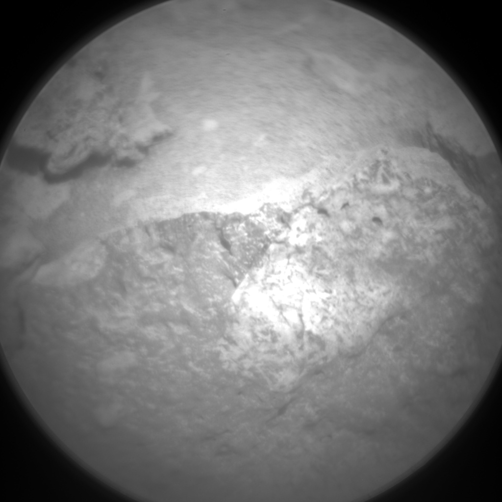 Nasa's Mars rover Curiosity acquired this image using its Chemistry & Camera (ChemCam) on Sol 520, at drive 1070, site number 25