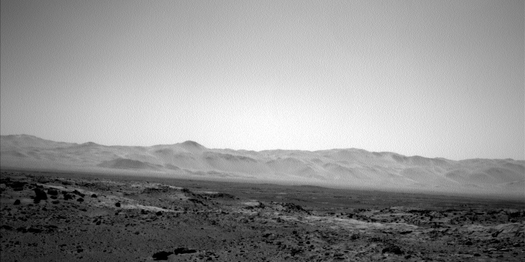 Nasa's Mars rover Curiosity acquired this image using its Left Navigation Camera on Sol 520, at drive 1070, site number 25