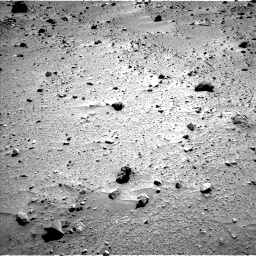 Nasa's Mars rover Curiosity acquired this image using its Left Navigation Camera on Sol 520, at drive 1130, site number 25