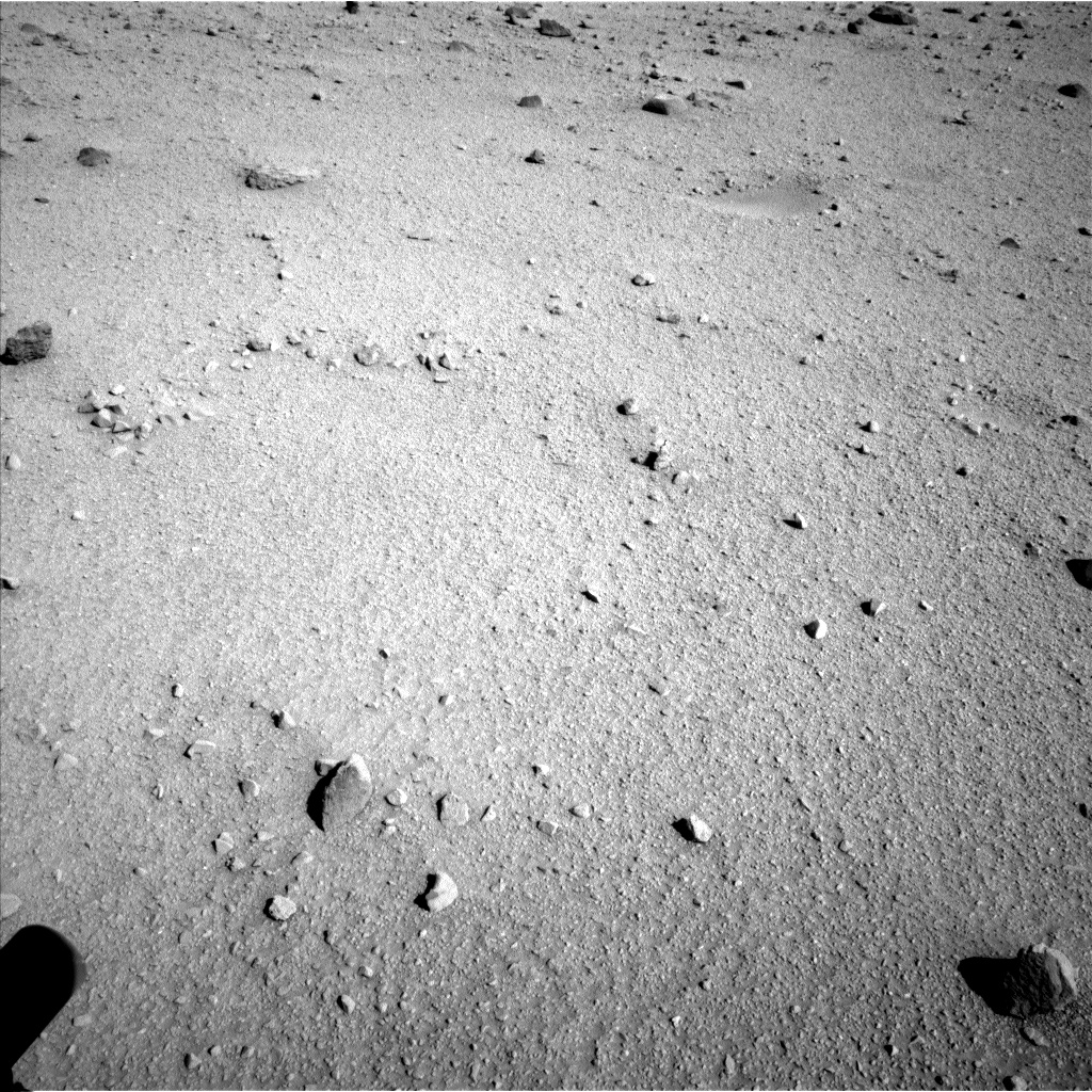 Nasa's Mars rover Curiosity acquired this image using its Left Navigation Camera on Sol 520, at drive 1202, site number 25
