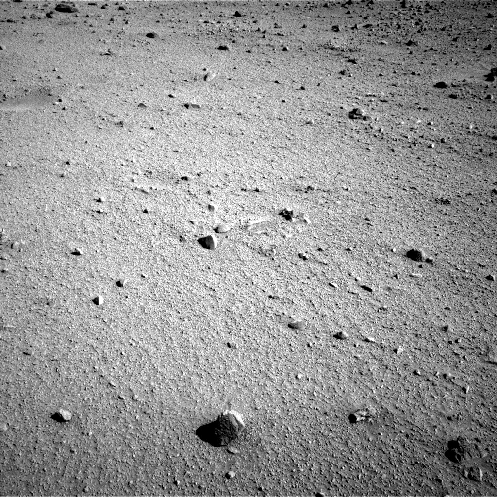 NASA's Mars rover Curiosity acquired this image using its Left Navigation Camera (Navcams) on Sol 520
