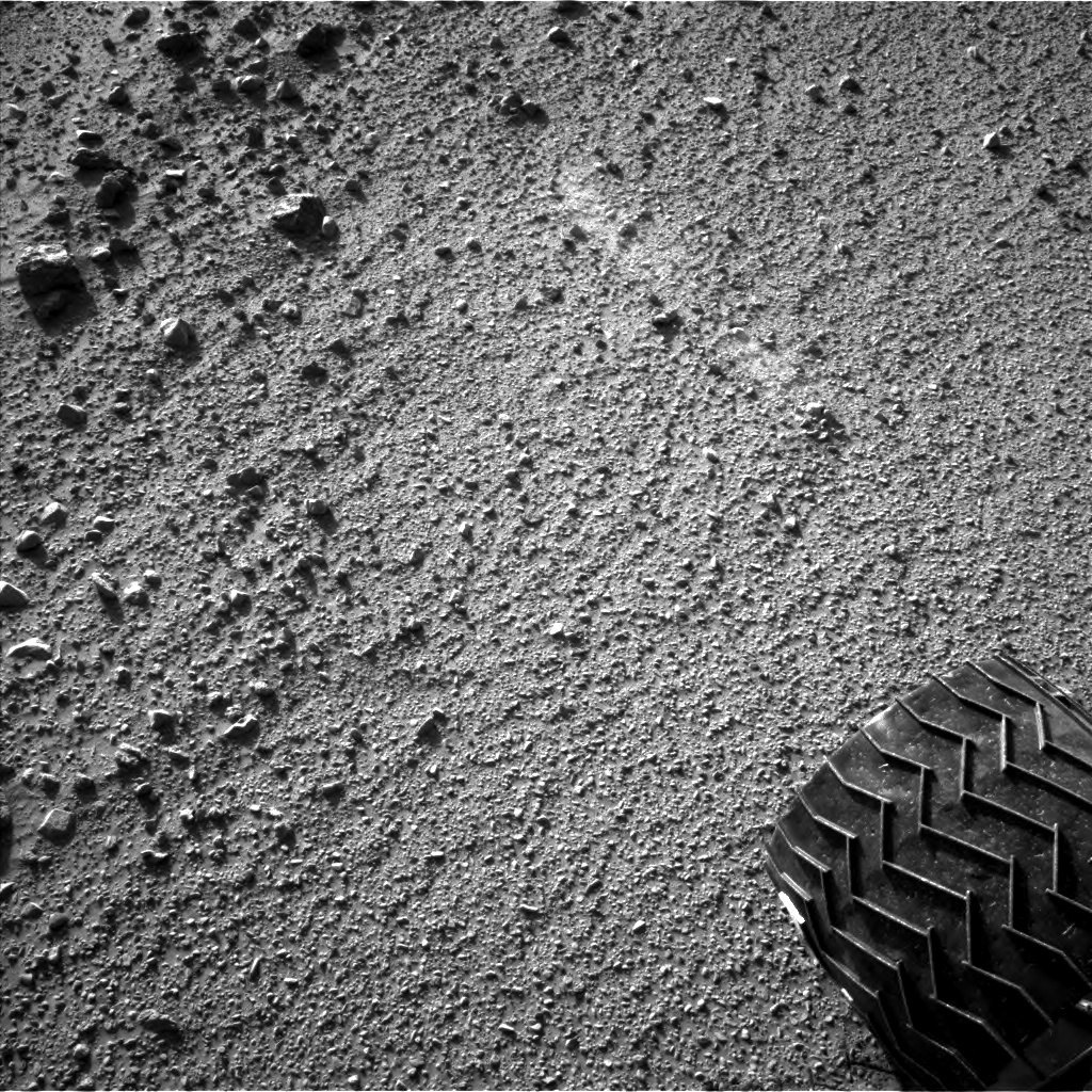 Nasa's Mars rover Curiosity acquired this image using its Left Navigation Camera on Sol 520, at drive 1238, site number 25