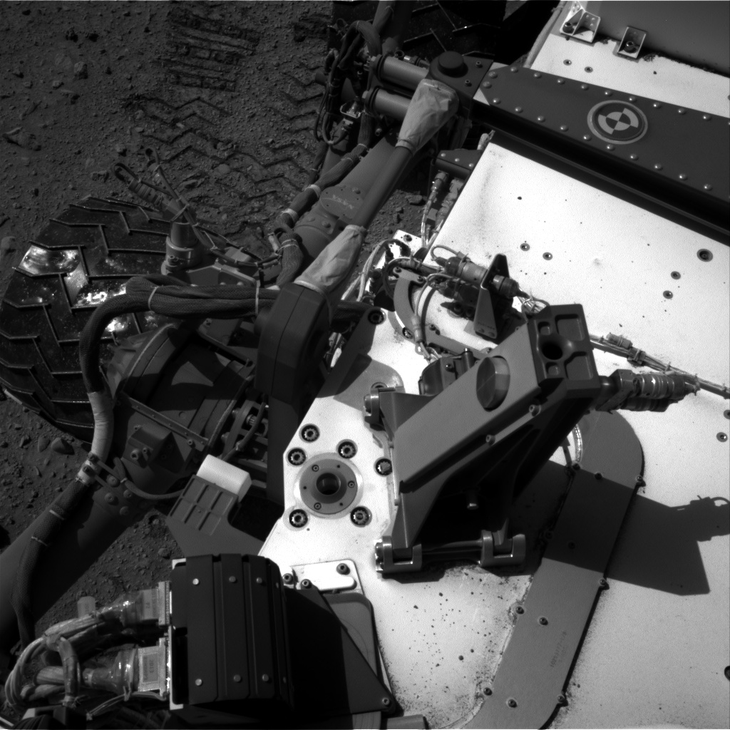 Nasa's Mars rover Curiosity acquired this image using its Right Navigation Camera on Sol 520, at drive 1082, site number 25
