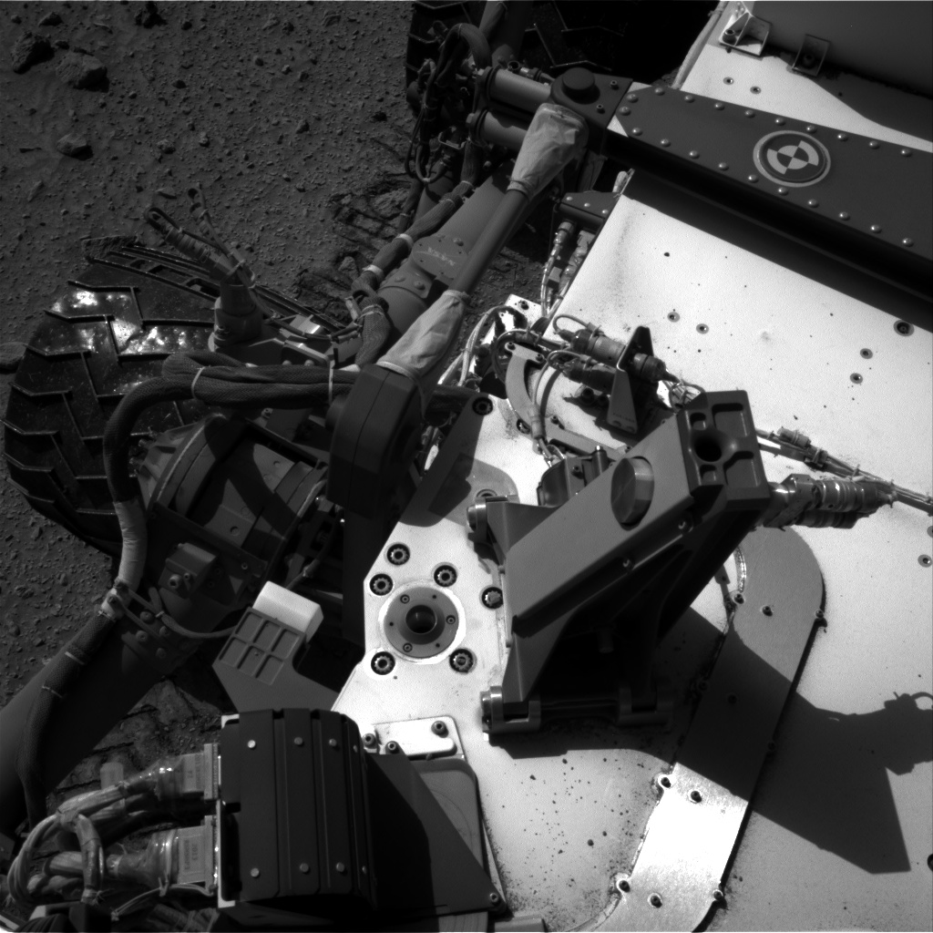 Nasa's Mars rover Curiosity acquired this image using its Right Navigation Camera on Sol 520, at drive 1130, site number 25