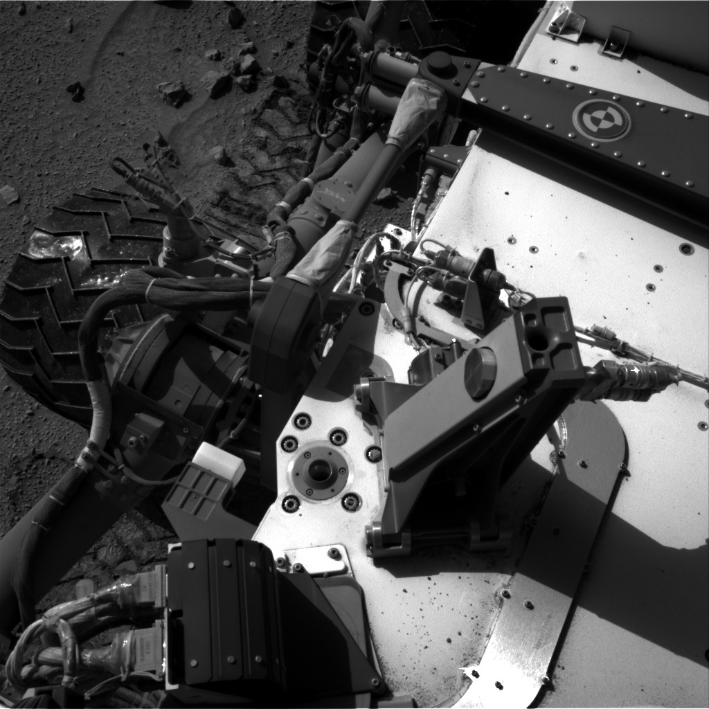 NASA's Mars rover Curiosity acquired this image using its Right Navigation Cameras (Navcams) on Sol 520