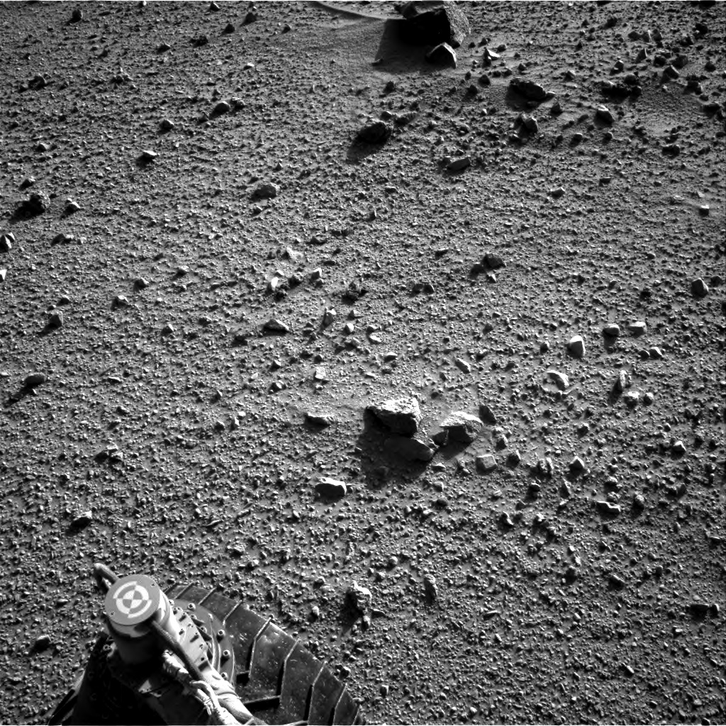 Nasa's Mars rover Curiosity acquired this image using its Right Navigation Camera on Sol 520, at drive 1238, site number 25