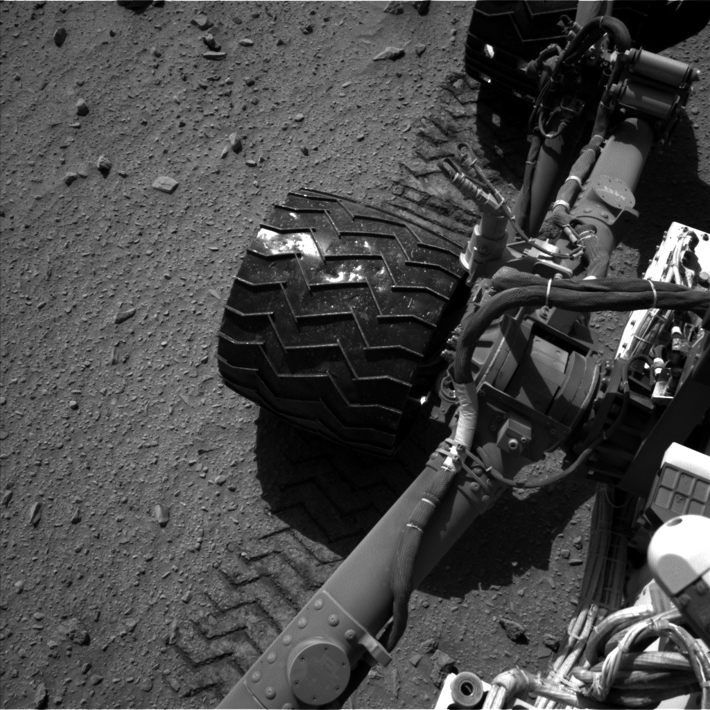 Nasa's Mars rover Curiosity acquired this image using its Left Navigation Camera on Sol 521, at drive 1280, site number 25