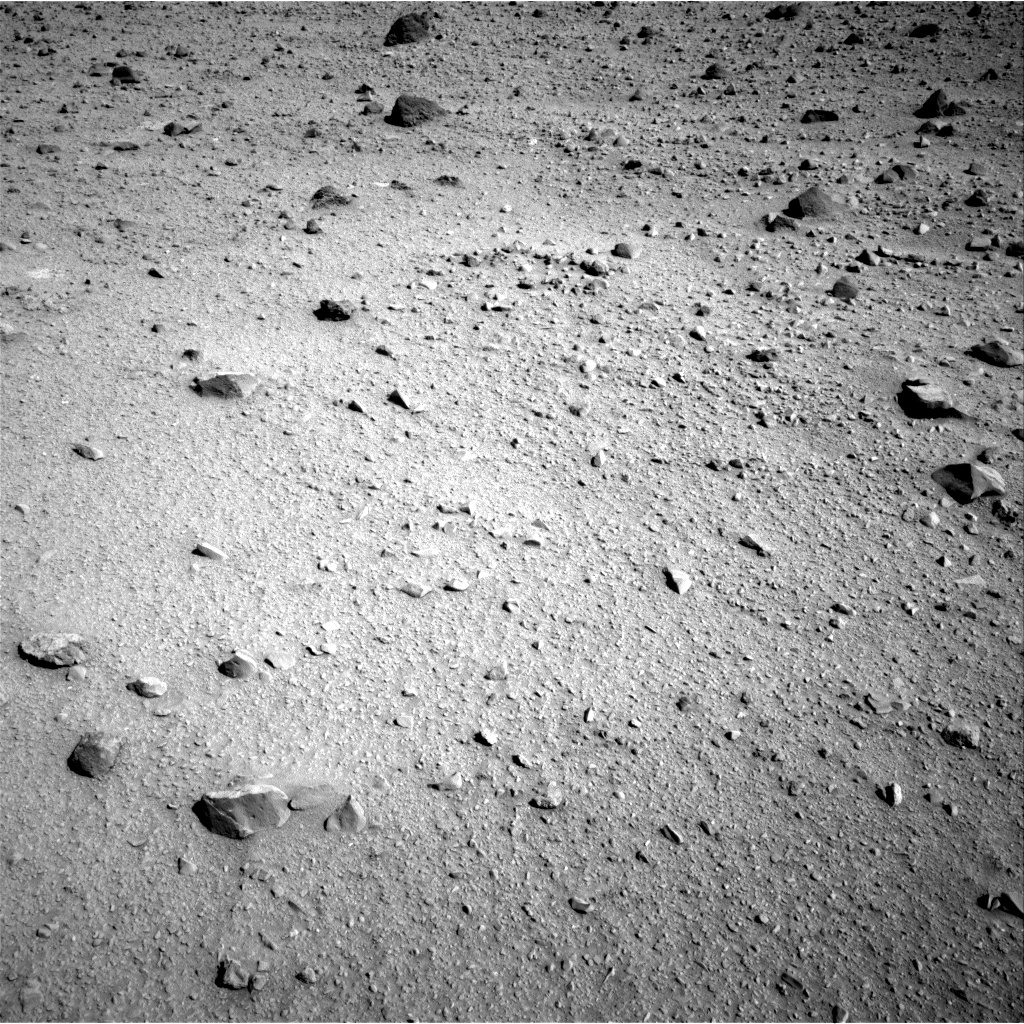 Nasa's Mars rover Curiosity acquired this image using its Right Navigation Camera on Sol 521, at drive 1274, site number 25