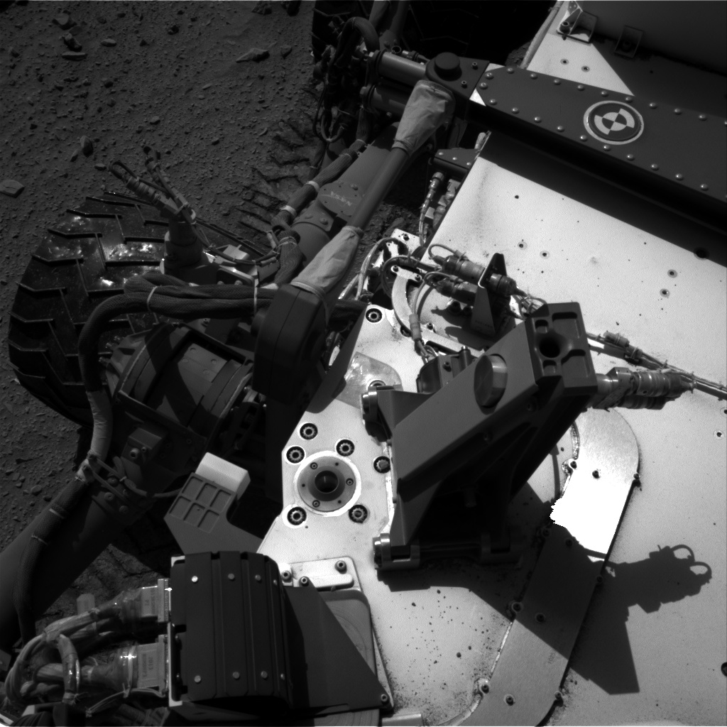 Nasa's Mars rover Curiosity acquired this image using its Right Navigation Camera on Sol 521, at drive 1280, site number 25