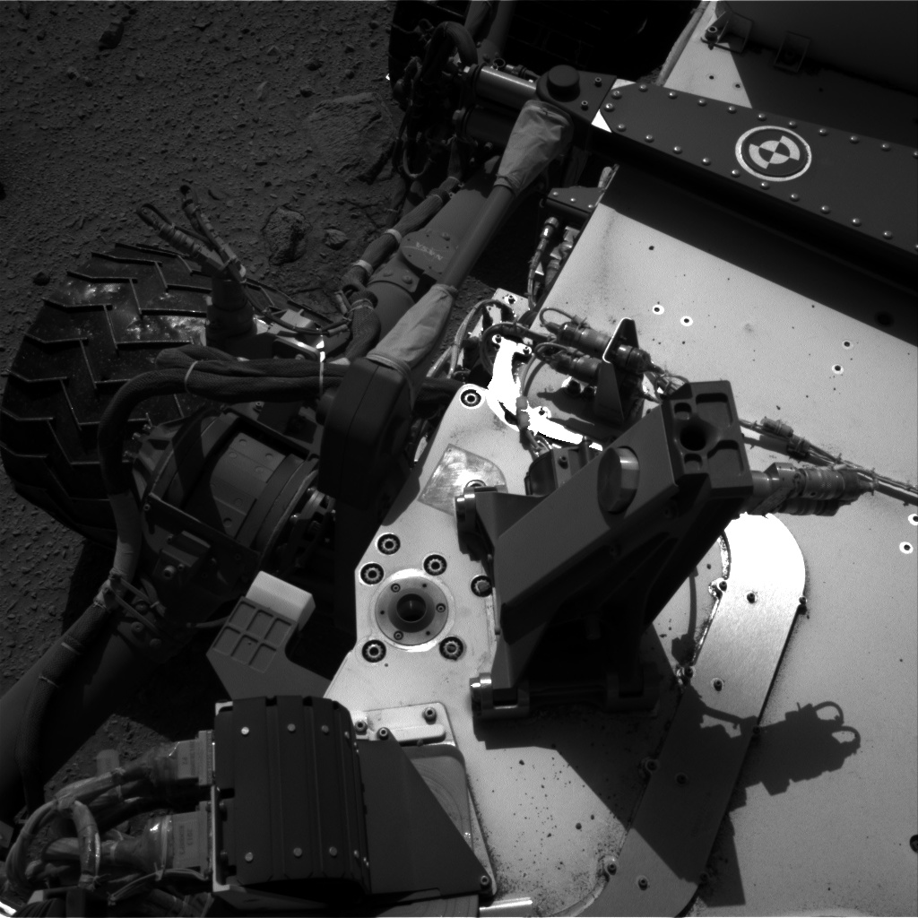 Nasa's Mars rover Curiosity acquired this image using its Right Navigation Camera on Sol 521, at drive 1292, site number 25