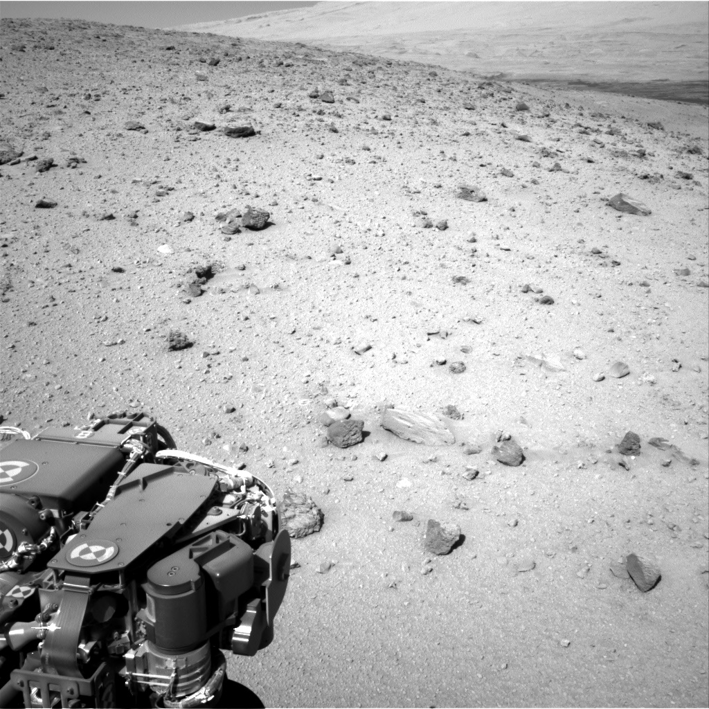 Nasa's Mars rover Curiosity acquired this image using its Right Navigation Camera on Sol 521, at drive 1296, site number 25