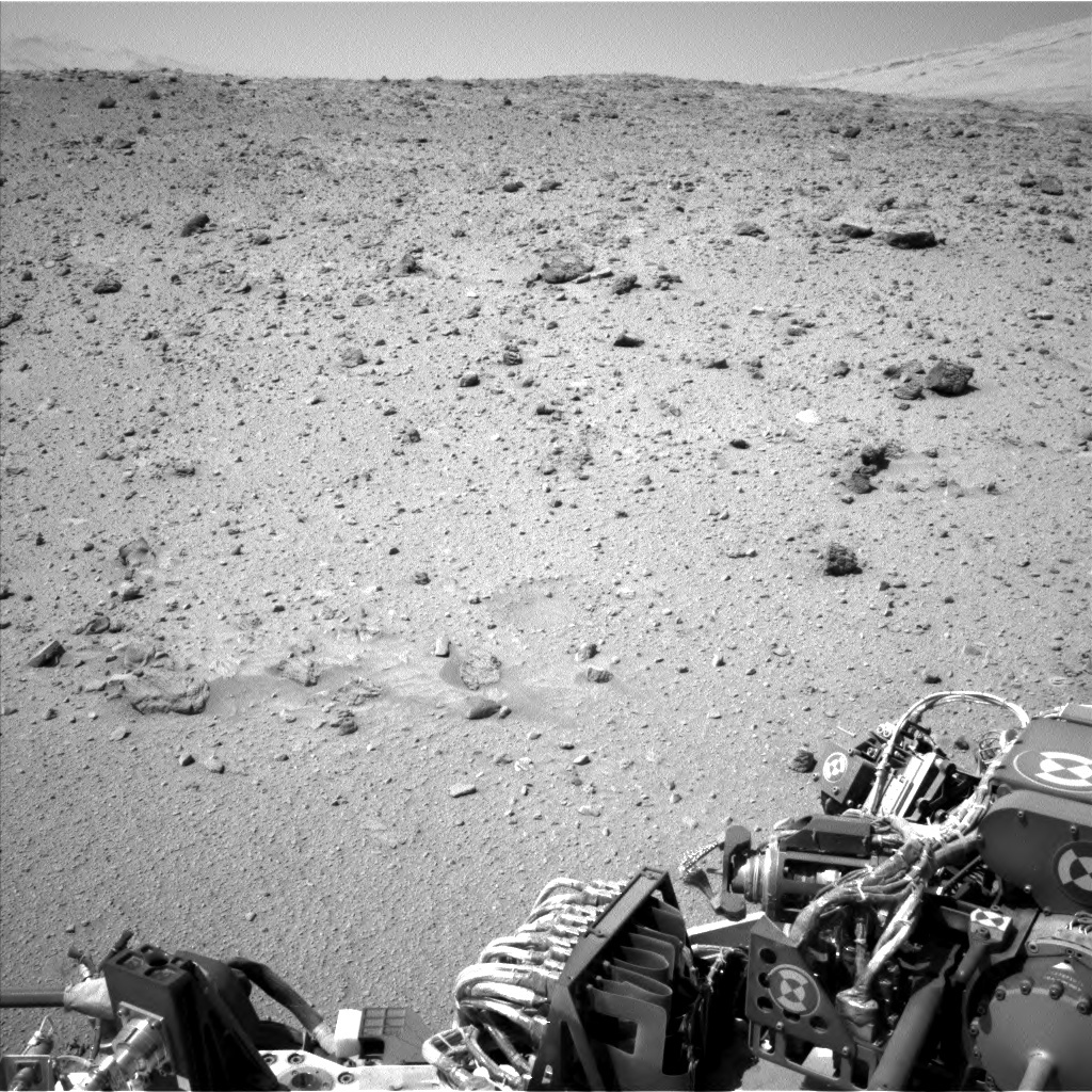 NASA's Mars rover Curiosity acquired this image using its Left Navigation Camera (Navcams) on Sol 522