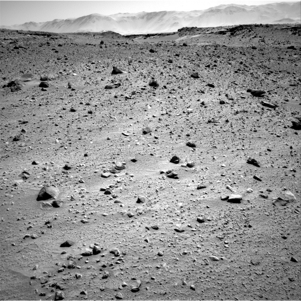 NASA's Mars rover Curiosity acquired this image using its Right Navigation Cameras (Navcams) on Sol 522