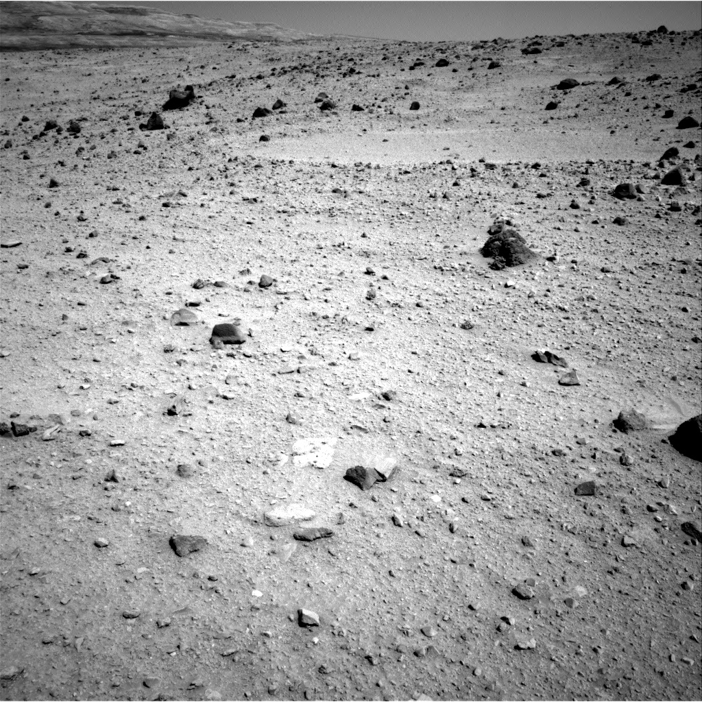 Nasa's Mars rover Curiosity acquired this image using its Right Navigation Camera on Sol 522, at drive 1296, site number 25