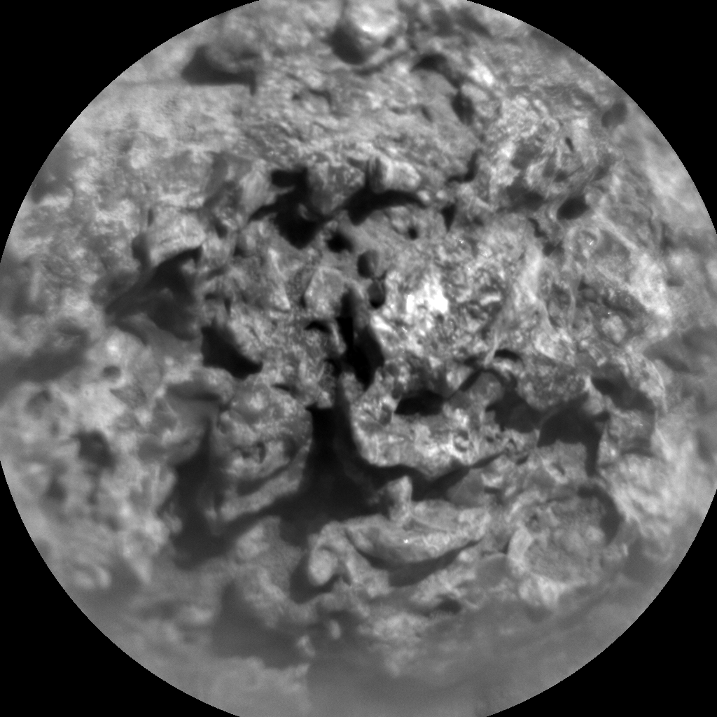 Nasa's Mars rover Curiosity acquired this image using its Chemistry & Camera (ChemCam) on Sol 522, at drive 1296, site number 25
