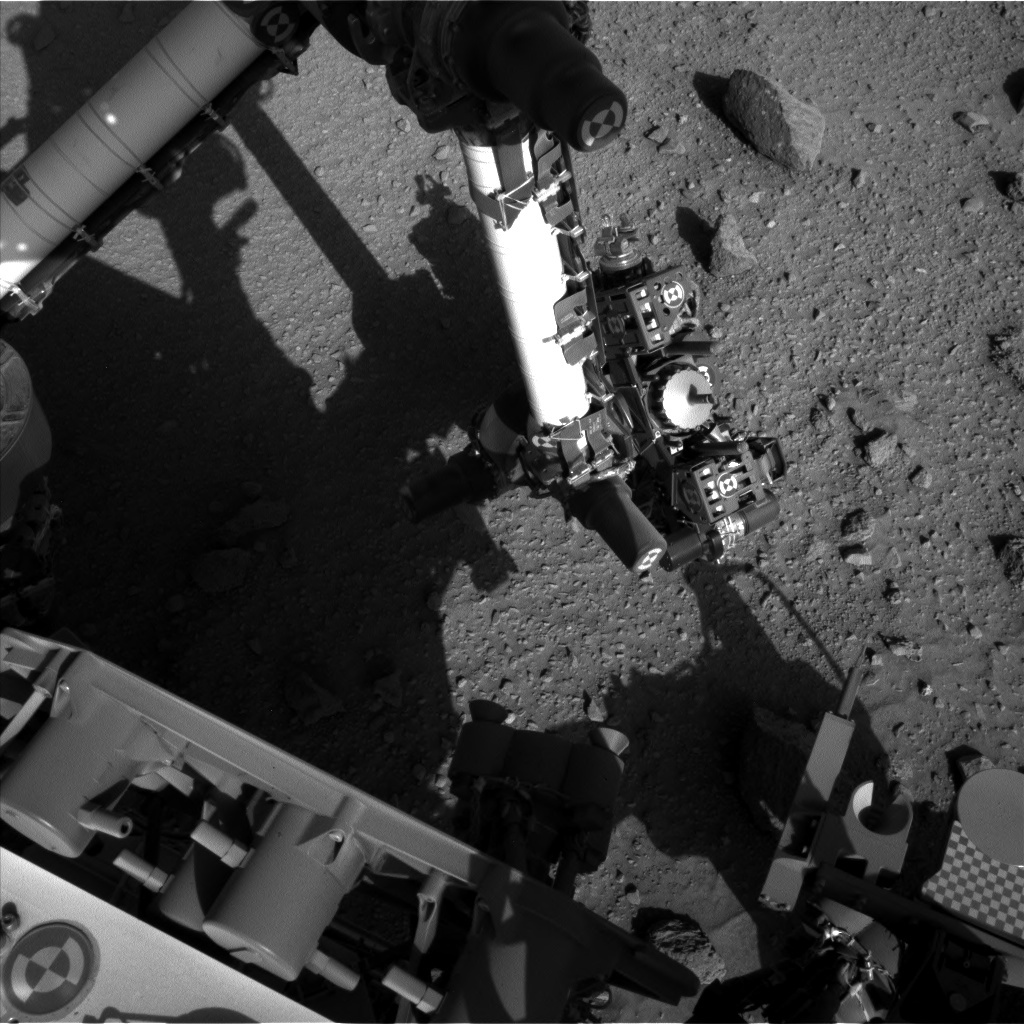 NASA's Mars rover Curiosity acquired this image using its Left Navigation Camera (Navcams) on Sol 523